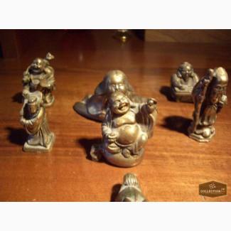 Продаю: Коллекция из семи бронзовых фигурок.