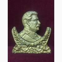 Барельеф И.В Сталин (силумин)