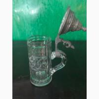 Пивная кружка(крышка олово) 1896 г