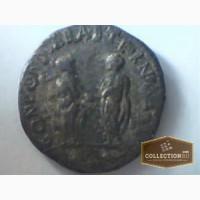 Серебряная монета Римской Империи (212-218), Калининград