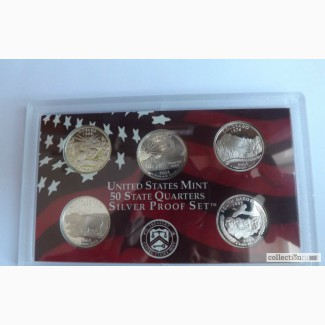 Продам набор монет серии 50 штатов США 25 центов в Тольятти