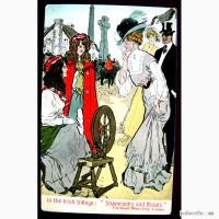 Редкая открытка.Заказ товара 1900 год