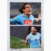 Продам автографы уругвайских футболистов