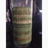 Водка Московская особая водка 1989 г. изг