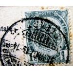 Редкая открытка. Гламур.Ню. Красавица М. 1914 год