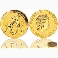 100 золотых Австралийских $ Кенгуру в Архангельске