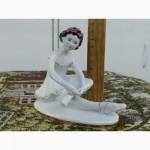 2 Фарфоровая статуэтка.Юная балерина Машенька - Дашенька ЛФЗ