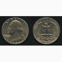 Продам монету 1982 год США liberty