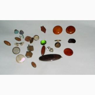 Старинные полудрагоценные и поделочные камни