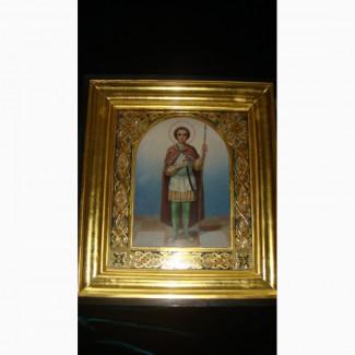 Продам Икону Дмитрий Солунский, XIX век