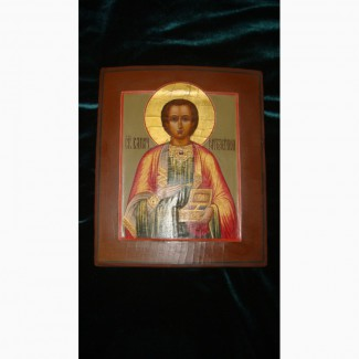 Продам Икону Святой Мученник Пантелеймон