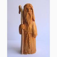 Миниатюрная скульптура из кедра Старец Волхв