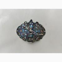 Продается Серебряная пряжка для пояса с эмалью по скани. Москва 1890-1908 гг