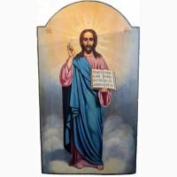 Продается Храмовая икона Господь Вседержитель конец XIX века