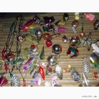 Старые елочные игрушки продам или пменяю