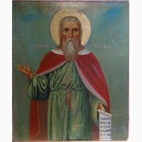 Продам Икону Святой пророк Илья. 19 века
