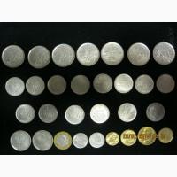 Комплект монет Франции 1960 -2000 г.г. ( 30 шт. )