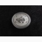 Австралия 1 доллар 2001. Год Змеи. Серебро 999 пробы