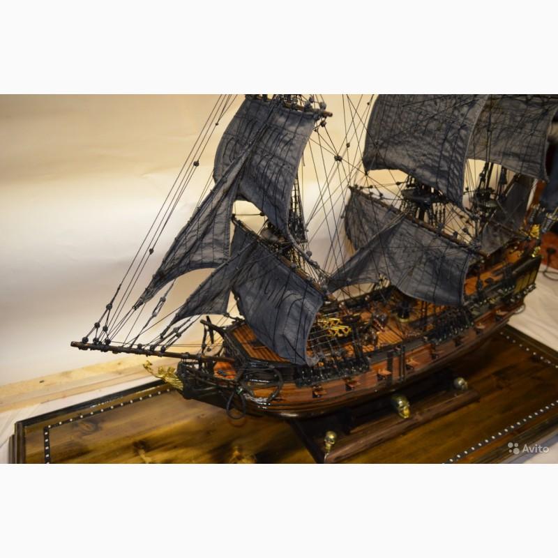Фото 2. Корабль «Черная Жемчужина» (ручная сборка)