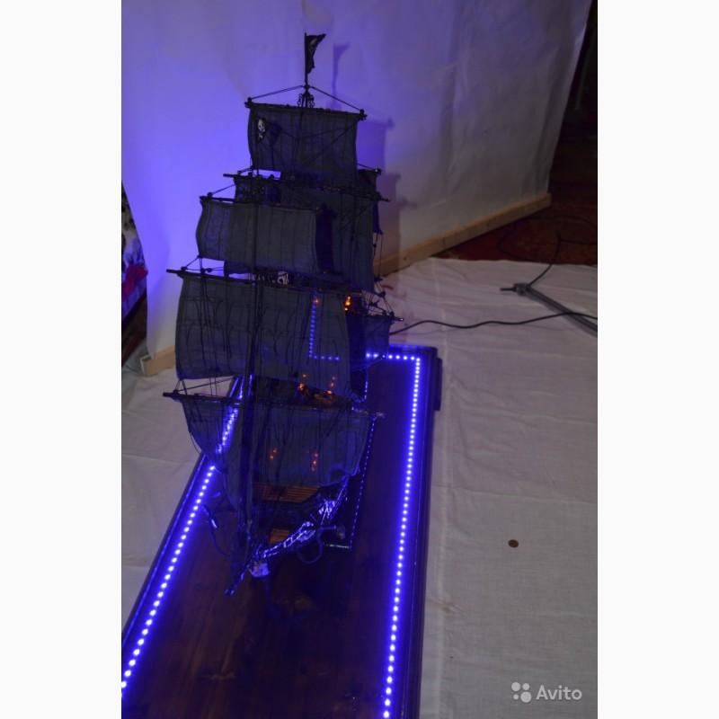 Фото 3. Корабль «Черная Жемчужина» (ручная сборка)