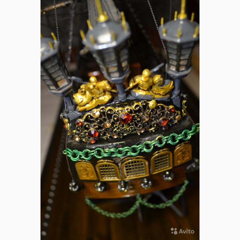 Фото 9. Корабль «Черная Жемчужина» (ручная сборка)