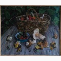 Продается Лещинский А.Н. - Натюрморт с грибами и ягодами