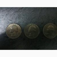 Продам монеты Либерти перевертыш 3 штуки