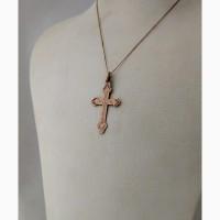 Продается Женский (детский) золотой нательный крестик. Москва 1908-1917 гг