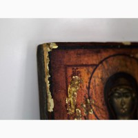 Продается Икона в серебряном окладе Знамение Пресвятой Богородицы. Петербург 1841 г