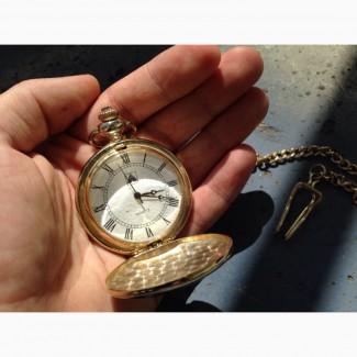 Продам часы карманные Anframa Damasquinados. Золотая инкрустация