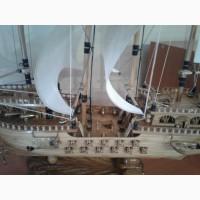 Продам модель фрегата