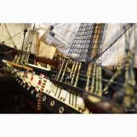 Корабль фрегат «Паллада» изготовлен по чертежам