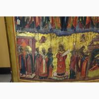 Продается Храмовая икона Покров Пресвятой Богородицы . Россия XIX века