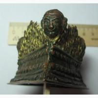 Габала, бронза, золочение, буддистская тематика