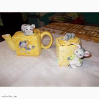 Чайник и сахарницаМышки в сыре