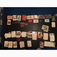 Продам Советские карманные календарики карточками и книжечками