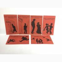 Комплект почтовых открыток начало 19-го века Основы гражданской обороны