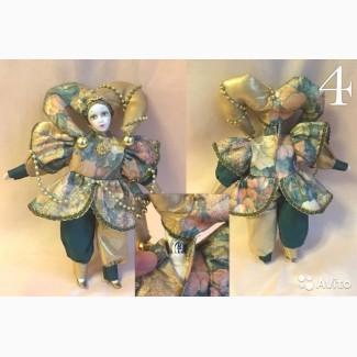 Продам куклу Арлекин английской фирмы Remeko Collection высота 25 см