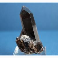 Дымчатый кварц / Морион, зональный кристалл