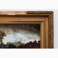 Продается Картина на фарфоре Сельская местность. Германия конец XIX века