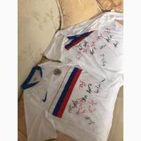 Продам две футболки с афтографом Сборной России с ЧЕ 2008 (Австрия)