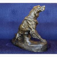 Продается Бронзовая скульптура Ирландский сеттер T. Cartier. France 1900-1915 гг