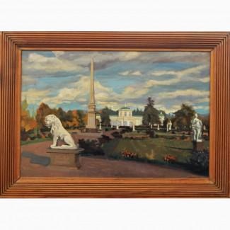 Продается Картина Кусково Китаев В.С. Москва 1989 год