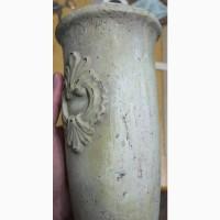 Напольная ваза, терракота, старинная