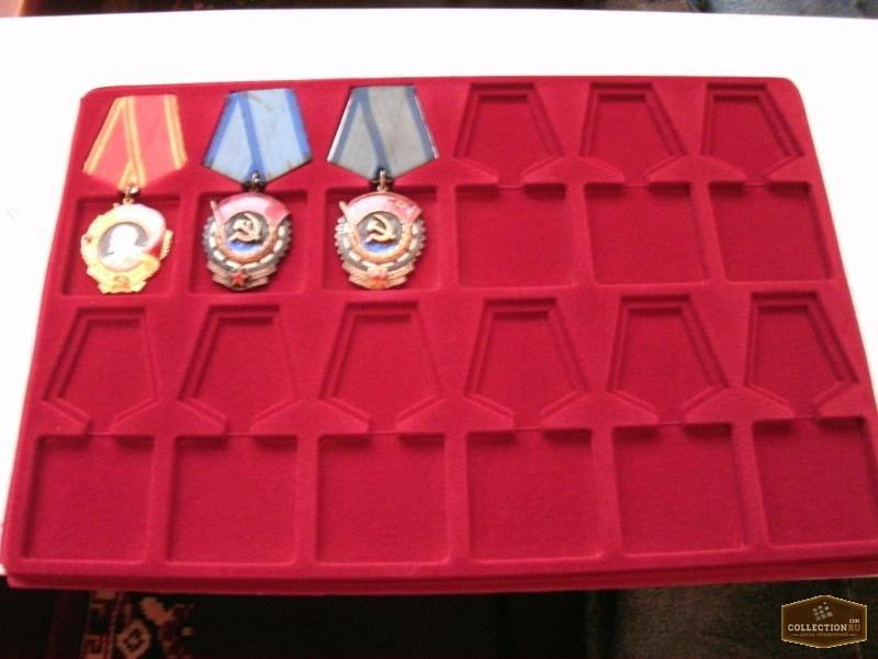Фото 3. Футляры под ордена и медали и любые знаки!