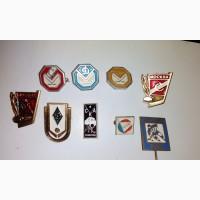 Значки советского спорта