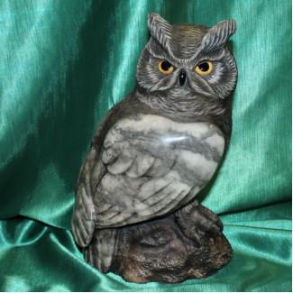 Филин Феликс авторская скульптура оригинальный подарок бизнес класса