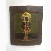 Старинная икона Пр.Богородице Живоносный Источник 19 век