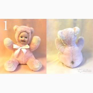 Продам редкую куклу, розовый музыкальный Мишка английской фирмы Remeko Collection, 24 см