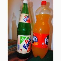 Продам бутылку fanta mandarin, 1 литр, стекло